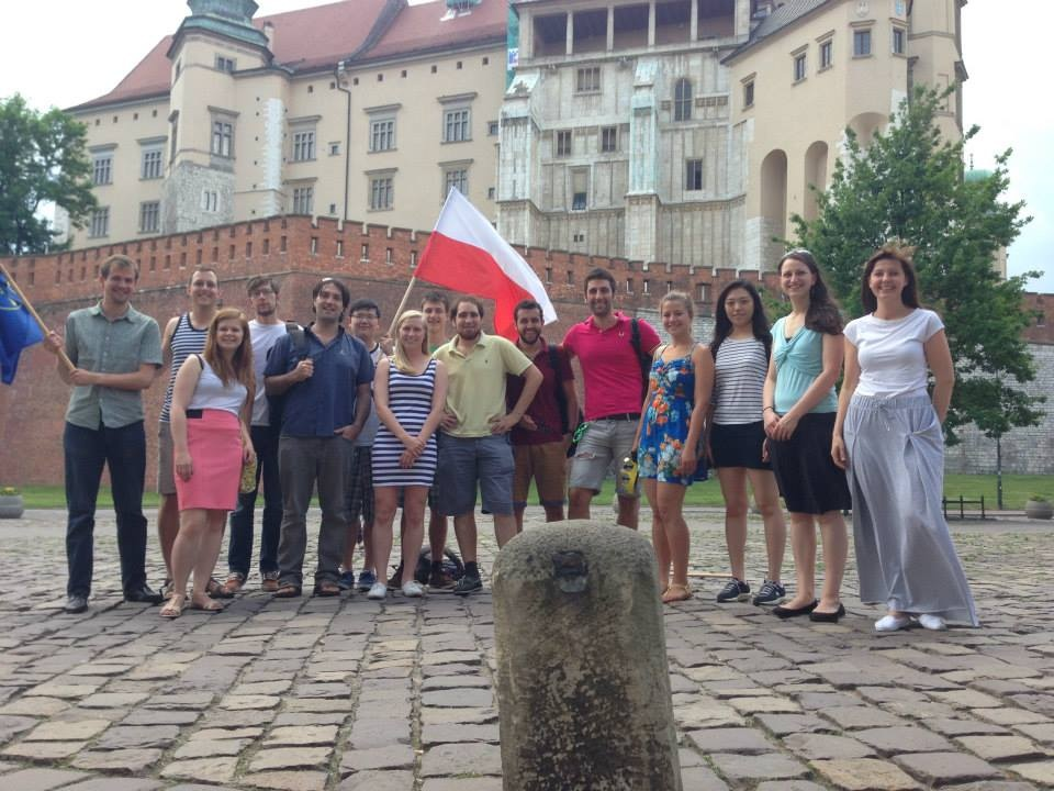 Students visit Wawel Castle